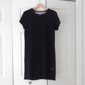 Black Horny Toad Toad and Co shift dress size M